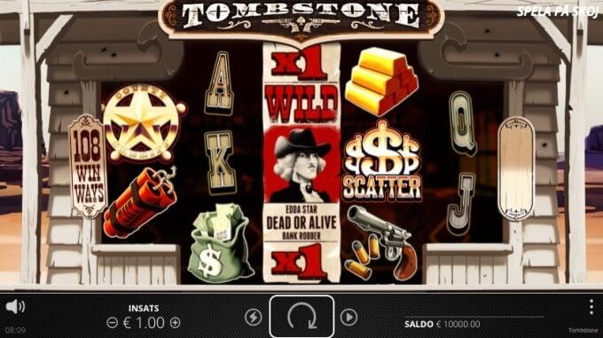 Tombstone Slot Bonus Symbols Game