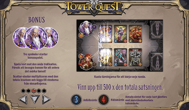 Tower Quest Bonus