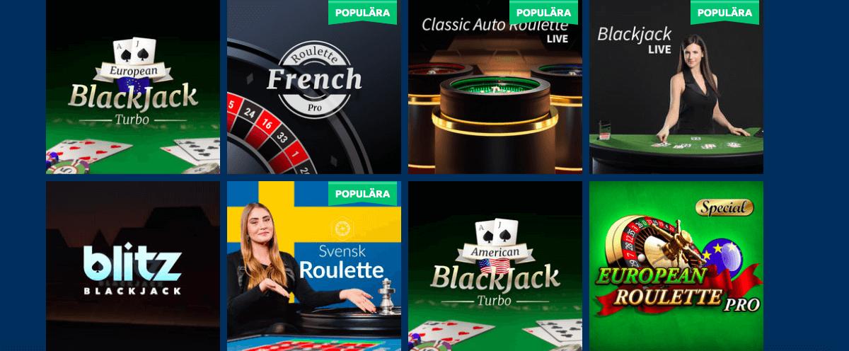 Turbonino Casino Live Casino