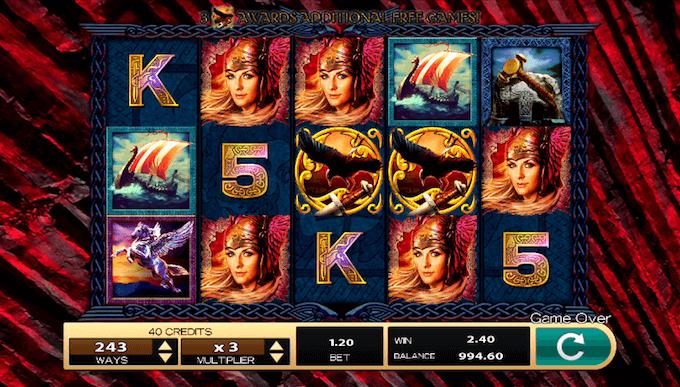 Valkyrie Queen spelbord
