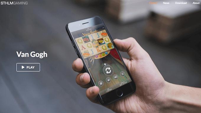 Van Gogh i mobilen