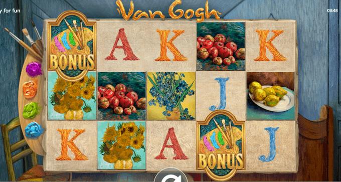 Van Gogh spelbord
