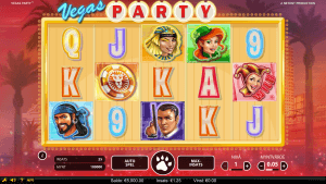 Leo Vegas exklusiva slot: Vegas Party