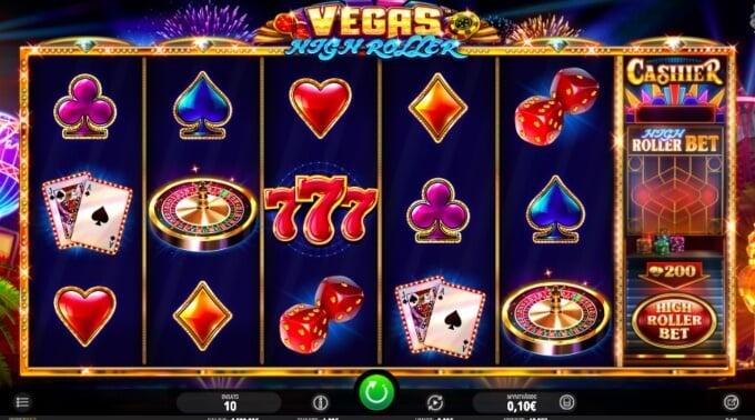 Vegas High Roller Slot Bonus Game