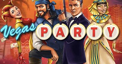 Vegas Party logga.