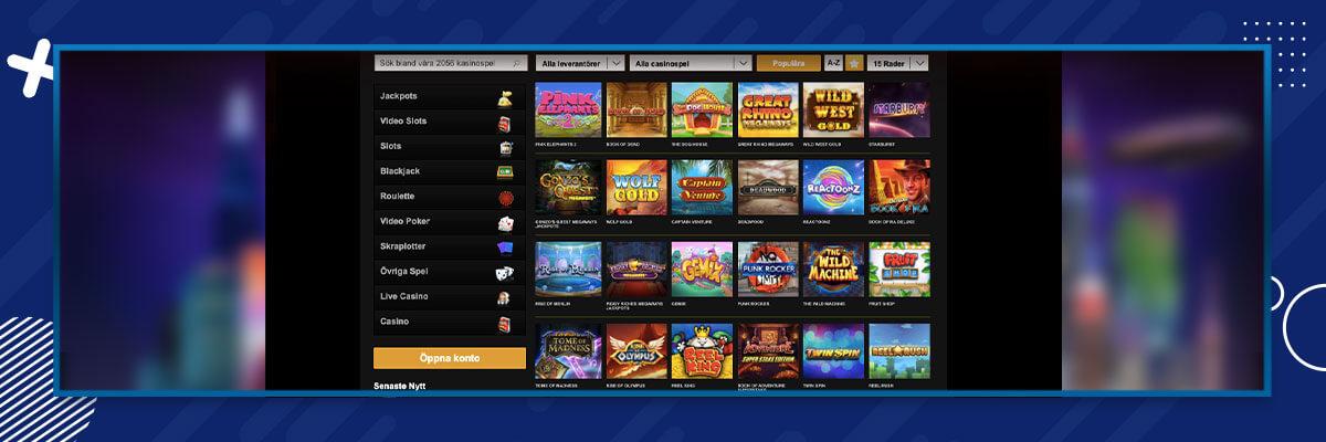 Videoslots casinospel