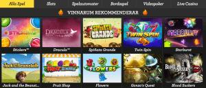 Vinnarum rekommenderar spel