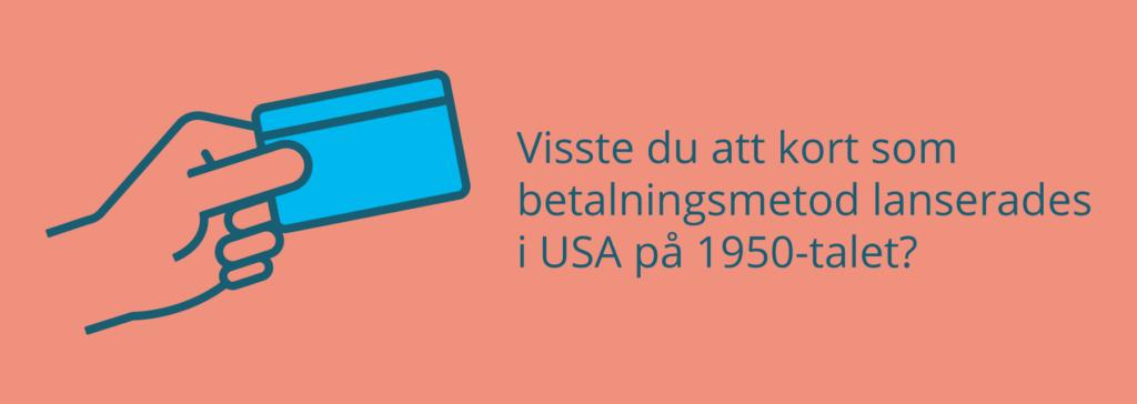 När lanserades Visa i USA?