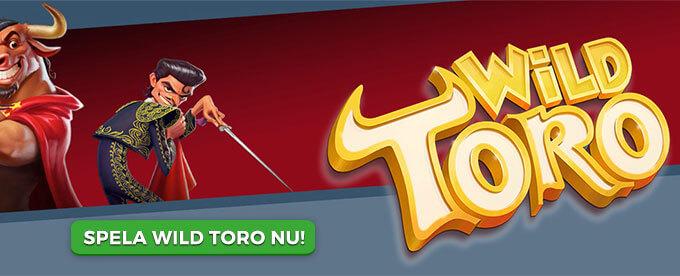 Wild Toro banner
