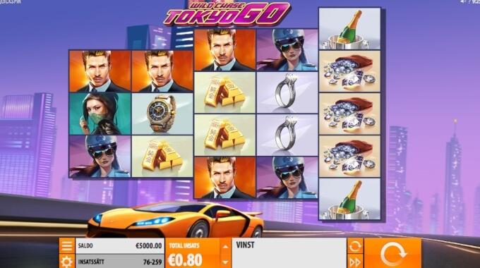 The WIld Chase: Tokyo Go Slot Bonus Game