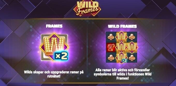 Wild Frames Bonus Wilds