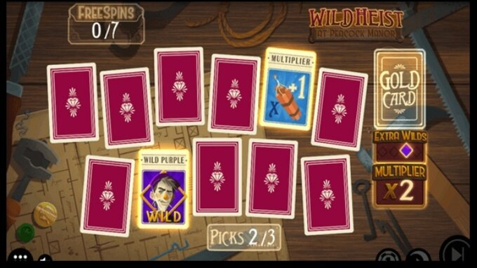 Wild Heast at Peacock Manor Slot Bonus Game