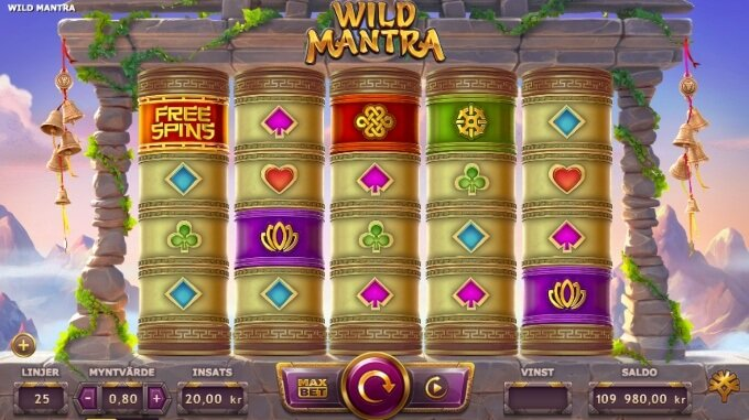 Wild Mantra Slot Bonus Game