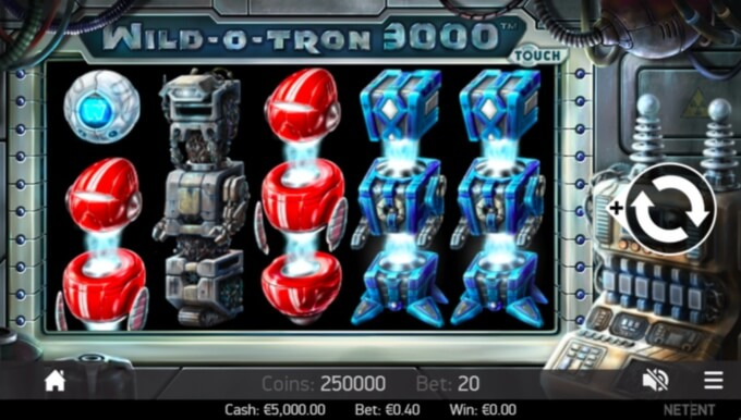 Wild-O-Tron 3000 Slot Bonus