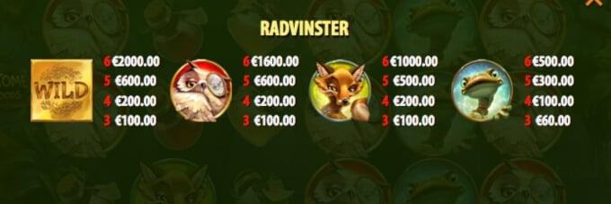 Wild Tome of the Woods Slot Bonus
