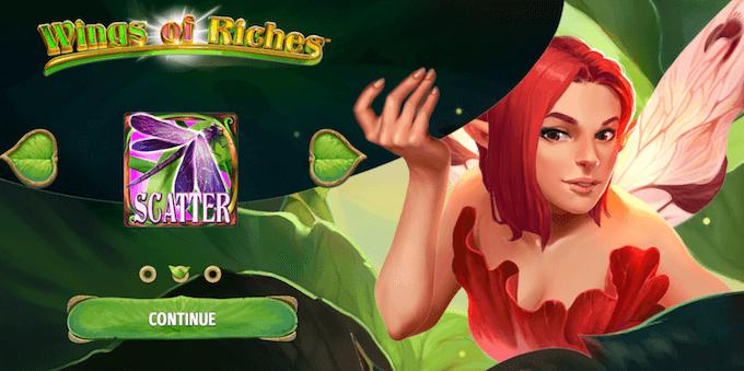 Spela Wings of Riches från NenEnt