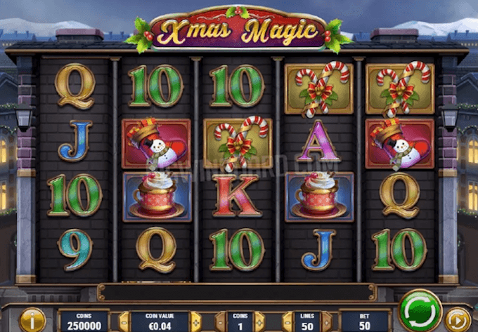 Xmas Magic spelbord