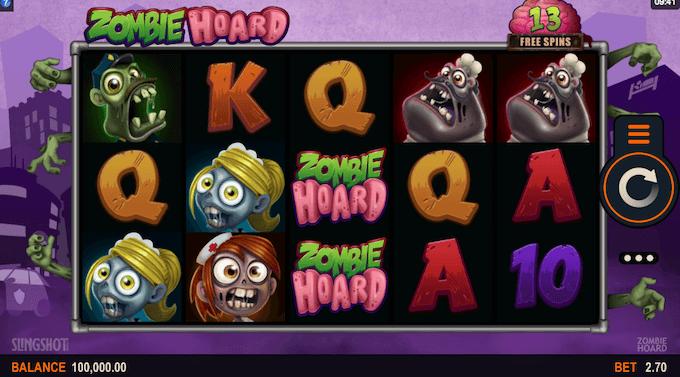 Zombie Hoards spelbord